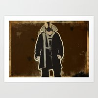 The Dark Knight: Bane Art Print