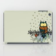 Owl In The Snow V2 iPad Case