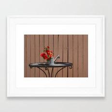 Perfect Summer Day Framed Art Print