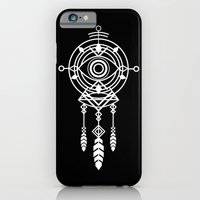 iPhone Cases featuring Cosmic Dreamcatcher by Budi Kwan