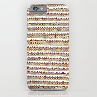 iPhone & iPod Case featuring 1000 tiny houses by Asja Boros