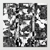 A Linear Landscape Canvas Print