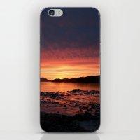 Frozen Sunset iPhone & iPod Skin