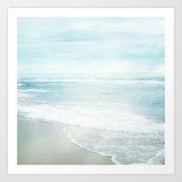 Feel The Sea Art Print