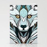 Little Polar Fox Stationery Cards