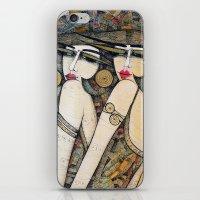 LES DEMOISELLES iPhone & iPod Skin
