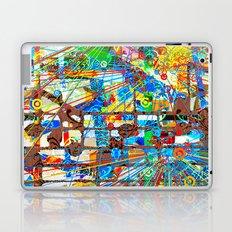 ブラックホワイト (Goldberg Variations #8) Laptop & iPad Skin