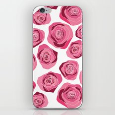 Roses are pink iPhone & iPod Skin