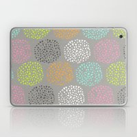 Flowers-triangles Laptop & iPad Skin