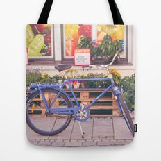 Market Bicycle Tote Bag