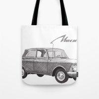 Moskvich 408 Tote Bag