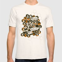 5 Year Mission Mens Fitted Tee Natural SMALL