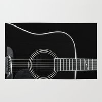 Guitar BW Rug