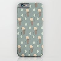 iPhone & iPod Case featuring Kids+Balloons on Juniper by ts55