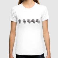 skulls T-shirts featuring Skulls by Rik Reimert