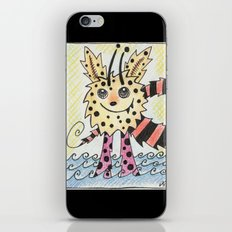 Yellow iPhone & iPod Skin
