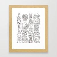 Pickles Print Framed Art Print