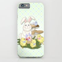 White Rabbit and Easter Friends iPhone 6 Slim Case