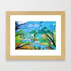La Cinciallegra (The Yellow Passerine) Framed Art Print