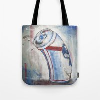 Beer Can Tote Bag