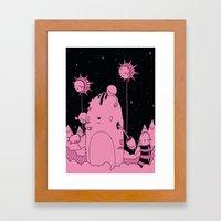 Quest 2 (Pink) Framed Art Print