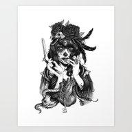 Chicana Art Print