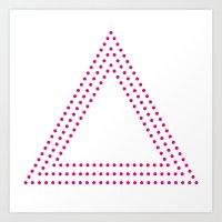 PINK DOT Art Print