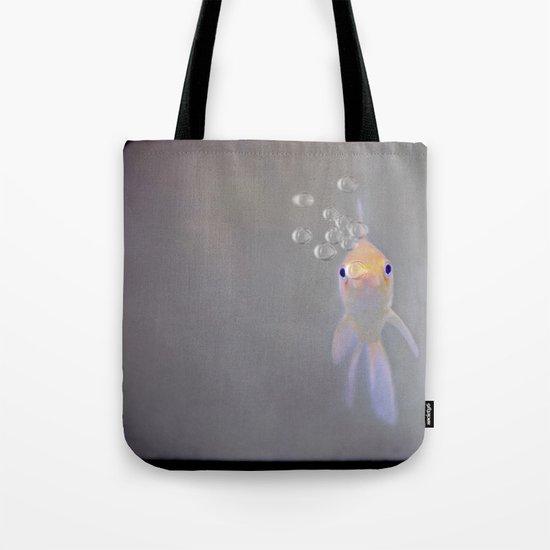 You looking at me, fishy?  Tote Bag