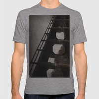 One last kiss Mens Fitted Tee Athletic Grey SMALL