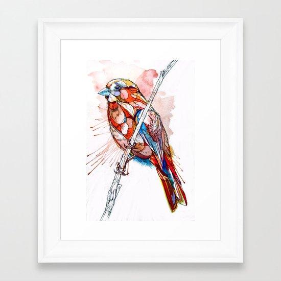 Color Spiel Framed Art Print