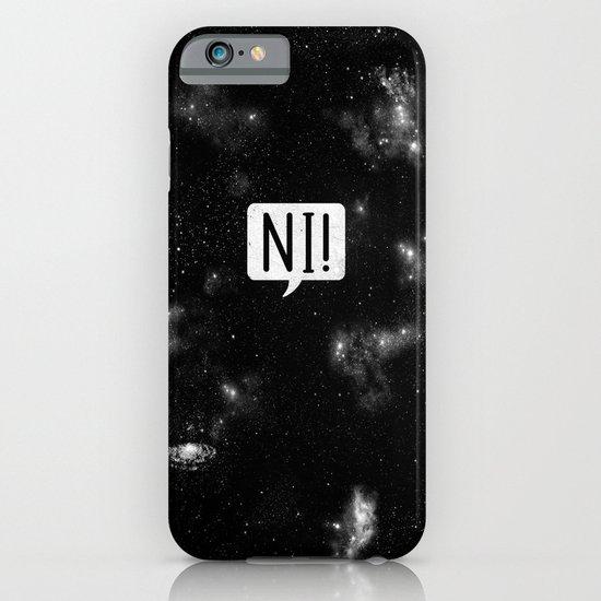 The Night Who Says Ni iPhone & iPod Case