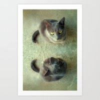 Double Love Art Print