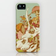 iPhone & iPod Case featuring Skulls In Spring by Teagan White
