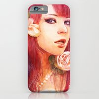 iPhone & iPod Case featuring Kiss from a rose by Aurora Wienhold