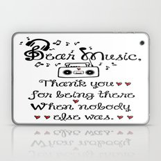 Dear music Laptop & iPad Skin