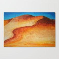 The Dunes Canvas Print