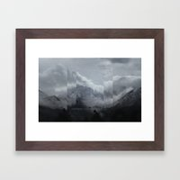 Fractions 00 Framed Art Print