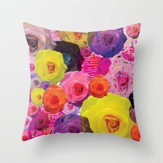 Rosette Throw Pillow