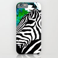 iPhone & iPod Case featuring Zebras by Patrickcollin