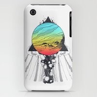 iPhone 3Gs & iPhone 3G Cases featuring Filtering Reality by Jorge Lopez
