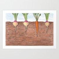 Subterranean Art Print
