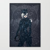 ME-OW. Catwoman Returns Canvas Print