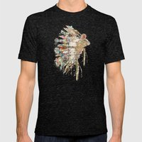 Headdress Mens Fitted Tee Tri-Black SMALL