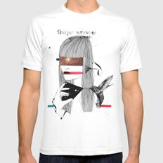 The Capture SMALL White Mens Fitted Tee