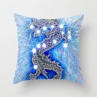 Dragon-constellation series Throw Pillow