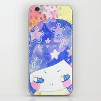 cosmic thoughts iPhone & iPod Skin