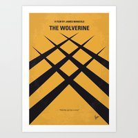 No222 My Wolverin Minima… Art Print