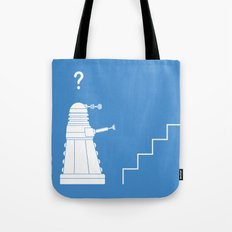 The problem with Daleks. Tote Bag