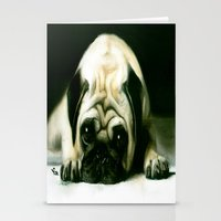 PUG POWER OUTAGE Stationery Cards