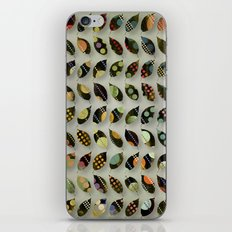 Pop Leaves iPhone & iPod Skin